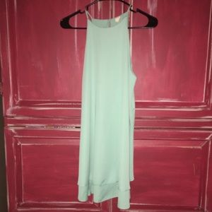 NWOT.  Boutique dress. Mint green.